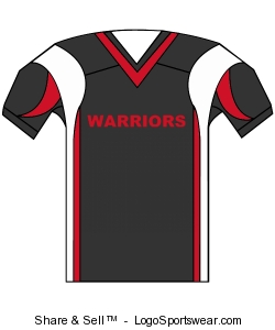 Youth Twister Steelmesh Football Jersey Design Zoom